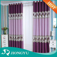 Fancy Living room Home Textile Blackout elegant church curtains