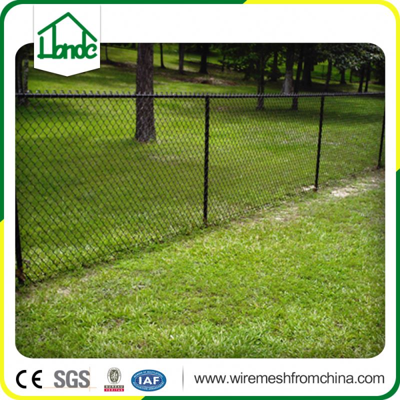 9 gauge galvanized angle post chain link fence