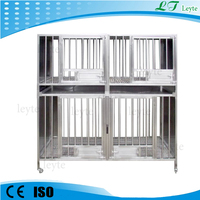 LTVC007 stainless steel pet dog cage