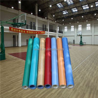 Good sale easy to clean synthetic basketball court flooring from china