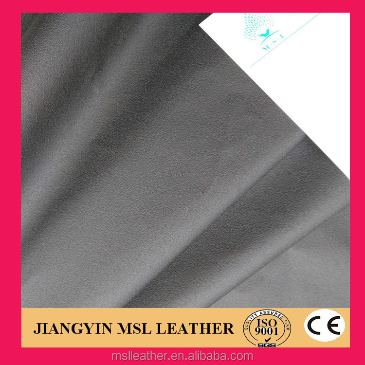 pvc synthetic leather with print fabrics for car seat covers/sofa from china supplier