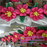 2015 new design Giant Inflatable Flower Decoration / Inflatable Flower Chain For Wedding Decoration