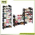 Shoe rack simple designs removable folding wholesale 10 tiers standard size shoe rack