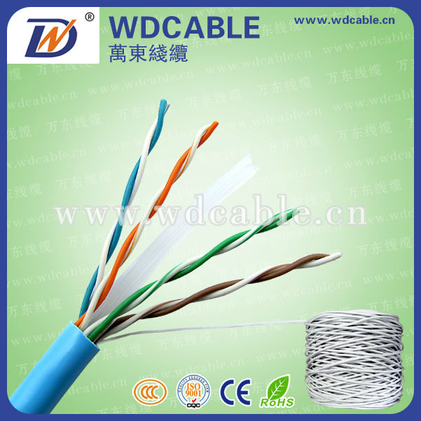 Category 6 Data Tuff Twisted Pair Cable industrial grade sunlight and oil resistant PVC jacket