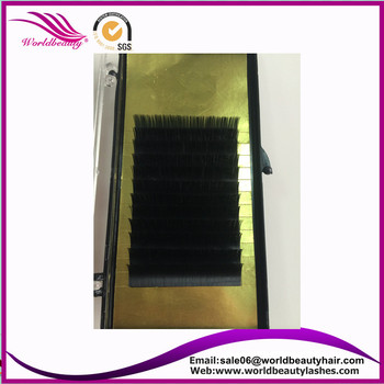 HOT!Cashmere eyelash extension,Matte Ellipticat/Flat eyelash extension