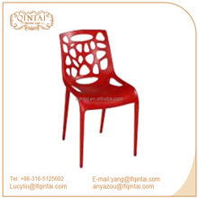 Bright Color Fashion Design Hollow Dining Chair