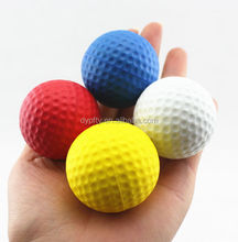 promotion cheap pu foam custom anti stress golf ball wholesale