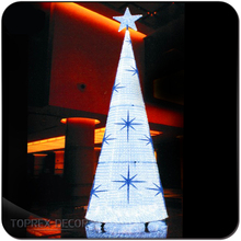Outdoor giant led acrylic christmas tree