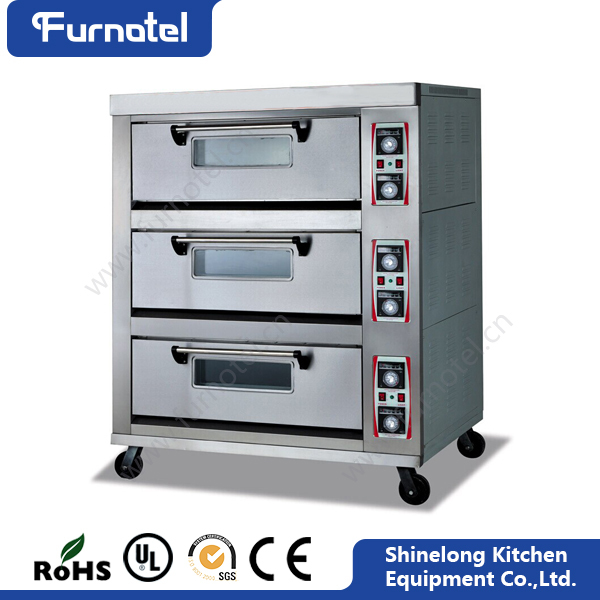 CE Certificate Approved Heavy Duty Large Production Industrial Cake Baking Oven For Sale