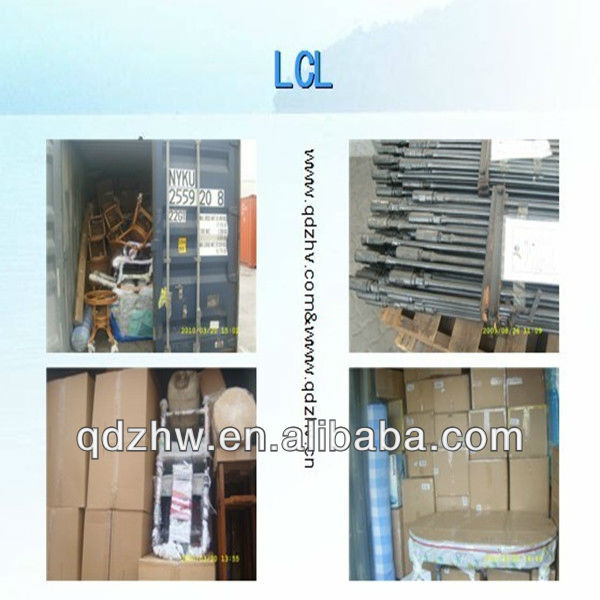 LCL sea freight forwarding service from Ningbo/Shanghai/Qingdao/Shenzhen to Monterrey Mexcio