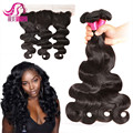 Best selling Natural extension human weave 7A grade virgin brazilian human hair 3 bundles wholesale for black woman