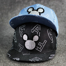 Custom Denim/Jeans Snapback Hats Adult Size Snap Back Full Hat Printed With Carton Image