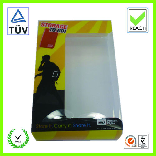 HDD plastic pvc packing boxes and packaging