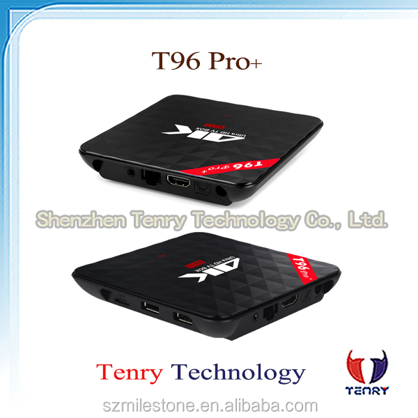 T96 PRO PLUS Android 6.0 Marshmallow T96 pro+ Amlogic S912 TV Box