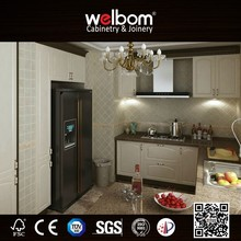 2016 Welbom PVC finish Modern European Kitchen Cabinets