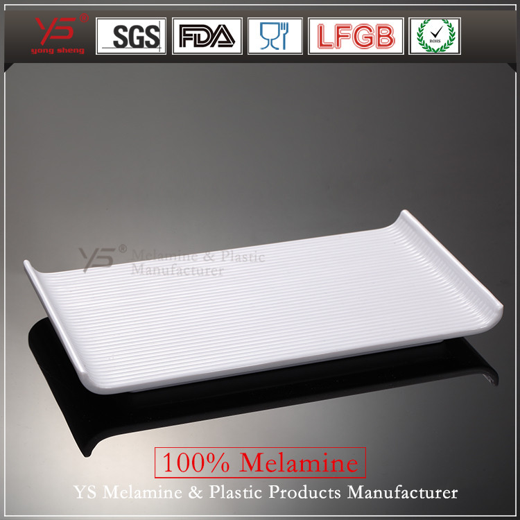 Top selling SGS certified 100% melamine tier kitchen plastic dish