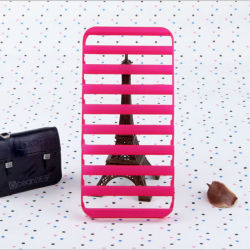 Ladder rubberized finish pc case for iphone 5 hot selling moulding pc case