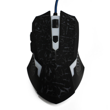 China computer accessories cheap gaming mouse free breathing mouse lights red blue & green