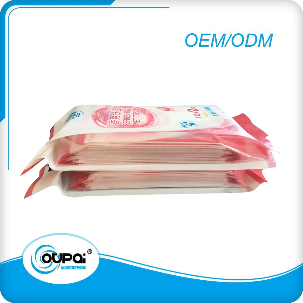 Multipurpose Personal care Women Wet Tissue 10pcs Packed