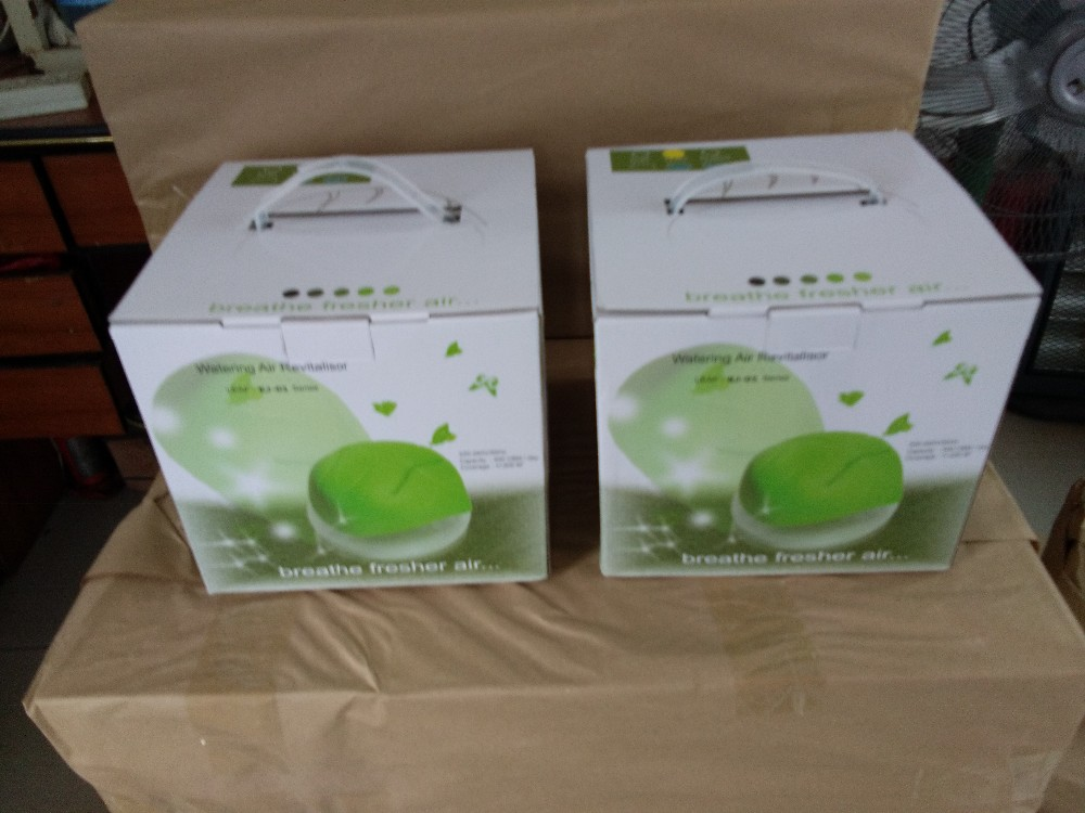 Leaf cover Water Air Purifier, Essential oil small water air purifier