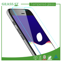 Import material 0.15mm high transparency mirror cell phone screen protector for iphone 6