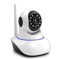 1.0 Mega Pixels WiFi Remote Rotate Pan Tilt IP Camera Support 64GB TF Card