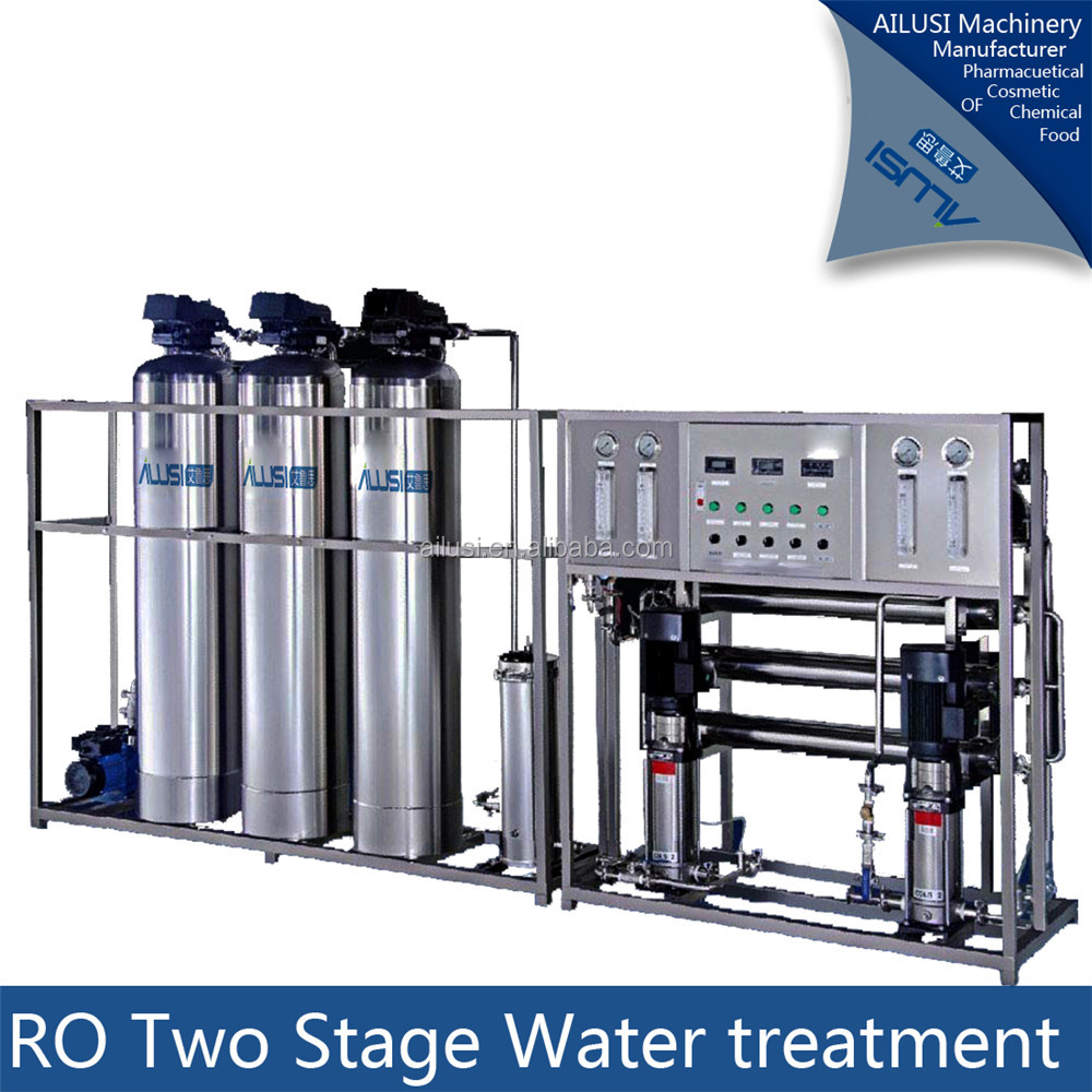 Reverse osmosis water purification system/mineral water plant machinery cost/mineral water plant