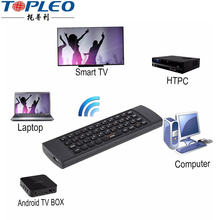 Multifunctional New Product G65 2.4 Ghz wireless ir singer tv control remote keyboard and mouse combo