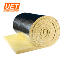 High Performance 32kg glass wool duct wrap price for HVAC Thermal Insulation