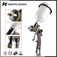 Factory best price top professional gravity feed hvlp paint spray gun