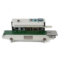 FR900 Plastic Film Sealing Machine /continuous band sealer