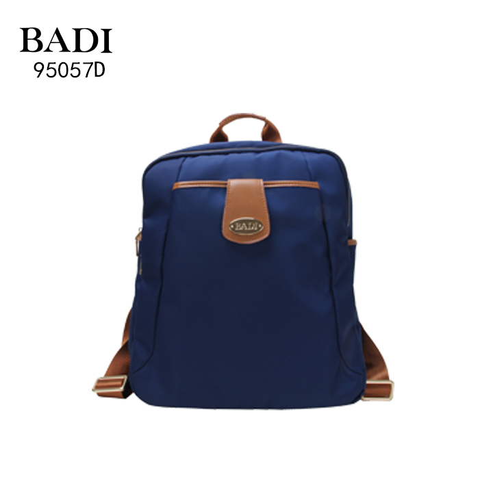 BADI factory designer bags for less fashion navy blue leisure backpack latest nylon backpack for lady