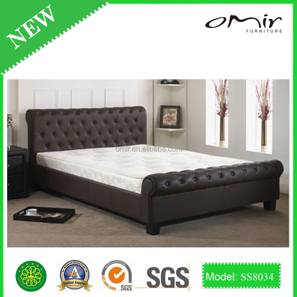2014 prado faux lgothic leather bed SS8034