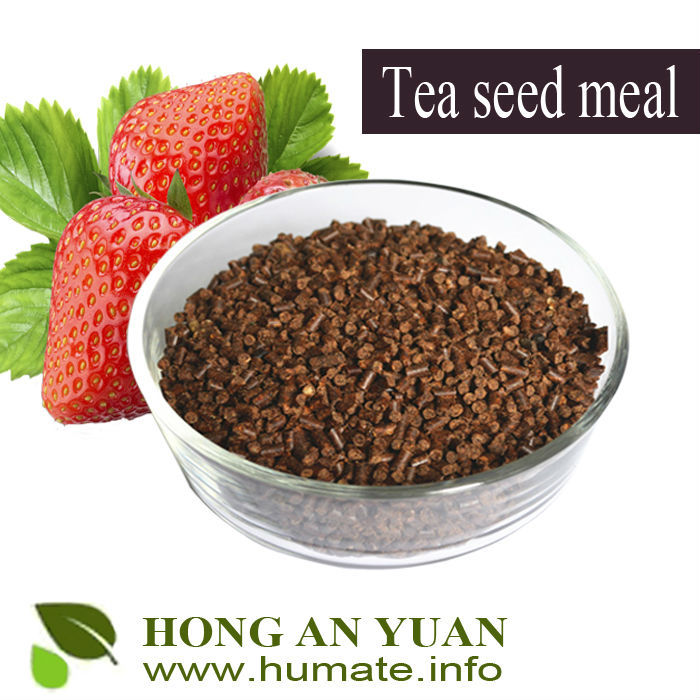 fertilizer tea seed pellets with 18% saponin