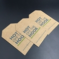 custom garment kraft paper hang tags for clothes