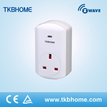 Smart Z-Wave Plug In Switch With Power Meter