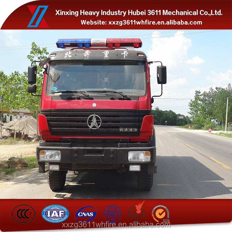 China Manufacturer Euro4 Water Tank Fire Fighting Vehicle
