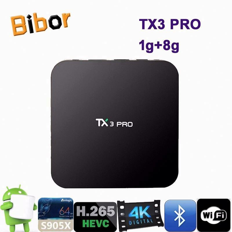 S905X Android 6.0 Smart TV Box 2GB 16GB XBMC Bluetooth 5G 2.4G Dual WiFi H2.65 Better than M95 Tx3 Pro