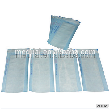 self-sealing pouch clear plastic bags for medical sterilization