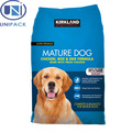Best selling alibaba hot sale plastic packaging dog food bag manufactur