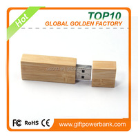 2016 new year gift large capacity cheap usb flash drive 32GB for America, rectangle wooden usb flash drive 32GB