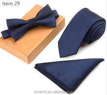 Fashion School Tie For Boys Crochet Tie Set Knitted Tie Men's