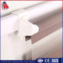 Polyester Mix Gauze Zebra Dustproof Blinds And Curtains