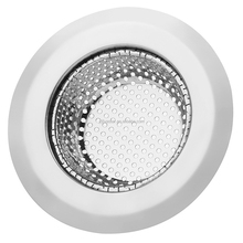 "Stainless-Steel Kitchen Sink Strainer for Garbage- Large Wide Rim 4.53"" Diameter-Easy Clean"