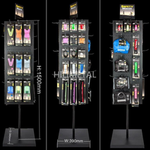 Phone case accessories display rack metal hanging hooks stand