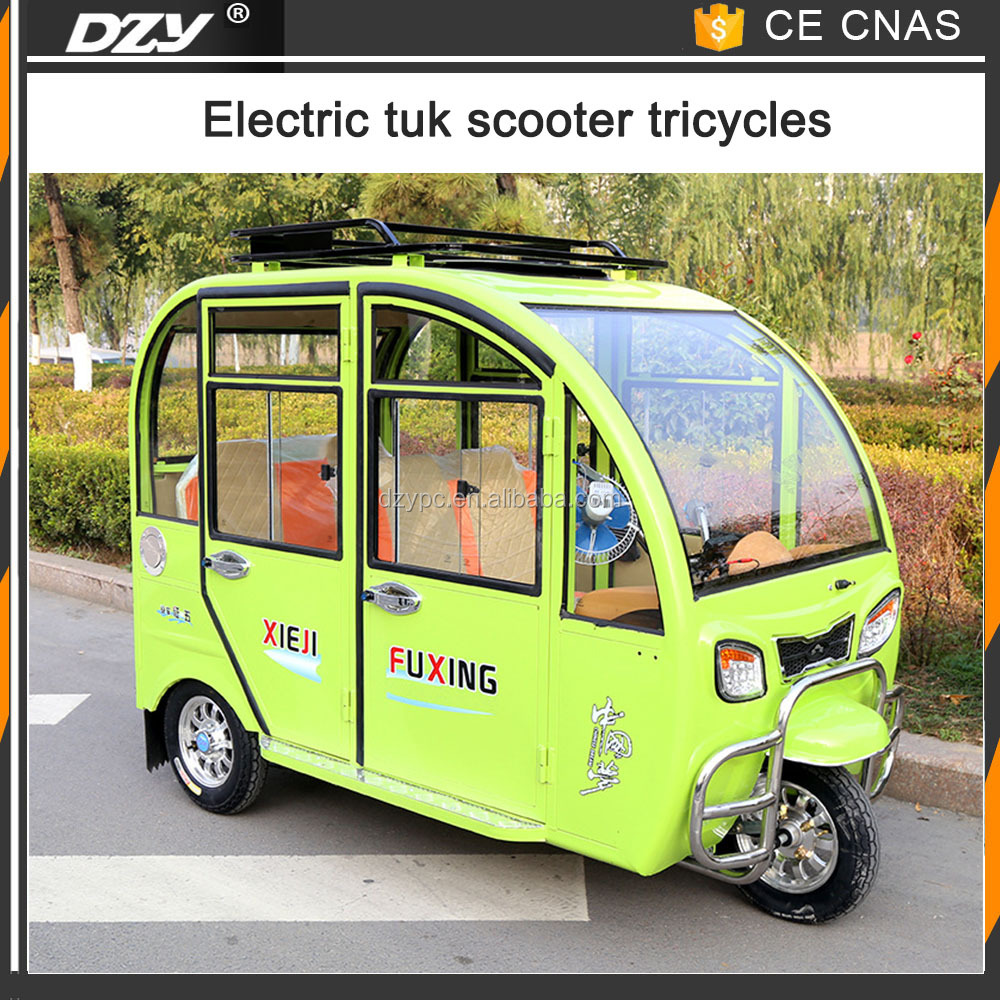 Chinese three wheel motorcycle close type I motorized tricycles for sale with passenger seat