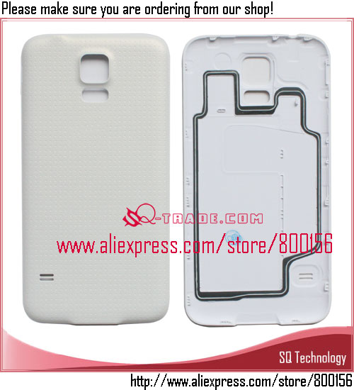 for Samsung for Galaxy S5 Battery Cover Replacement White Color