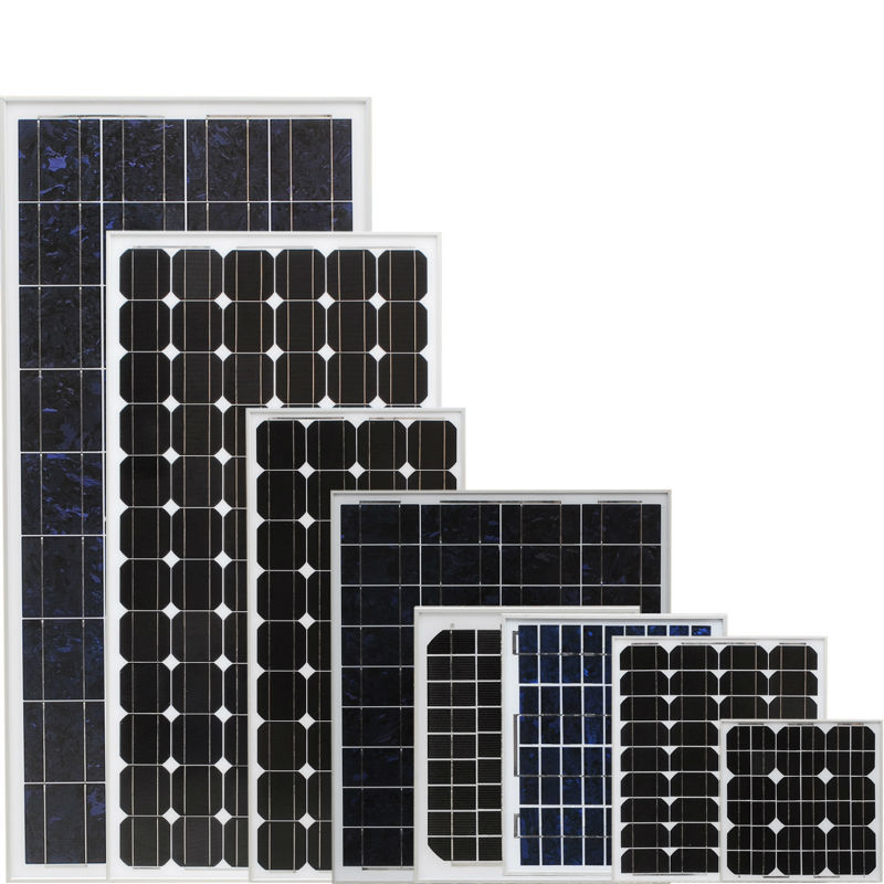 mono or poly solar panel from china supplier with factory price 10w 50w 250w