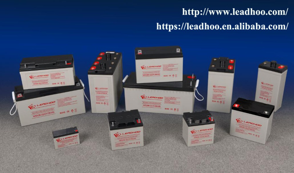 12v 200ah wind power storage battery