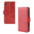 Retro Calf Skin Pu Leather Folio Flip Cover Wallet Cover Case For HUAWEI Y5 2019